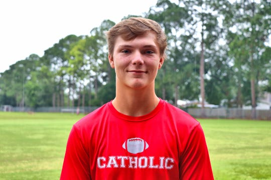 Catholic High Safety #10 Nicholas Borne. Tuesday, July30, 2019