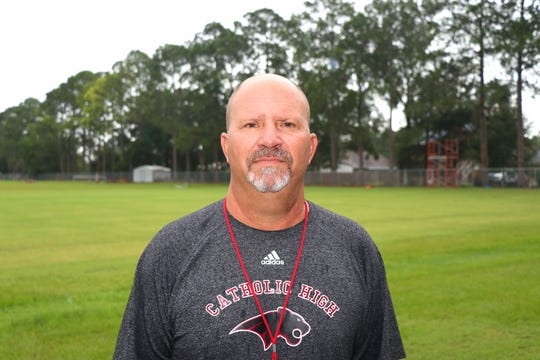 Catholic High Head Coach Brent Indest. Tuesday, July30, 2019