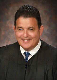 Ingham County Circuit Court Judge Richard Garcia.