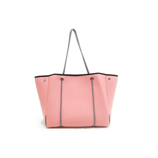 The Blush Rose Fitness Tote from Yellow Willow Yoga is versatile.