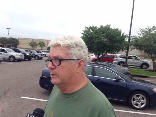 Walmart customer, Phil Cox, interviewed at the scene of the Southaven Walmart.
