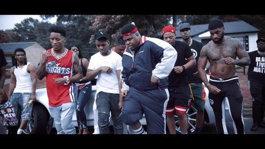 "Duke Deuce performs the ""Style Dance"" in his ""Yeh"" video."