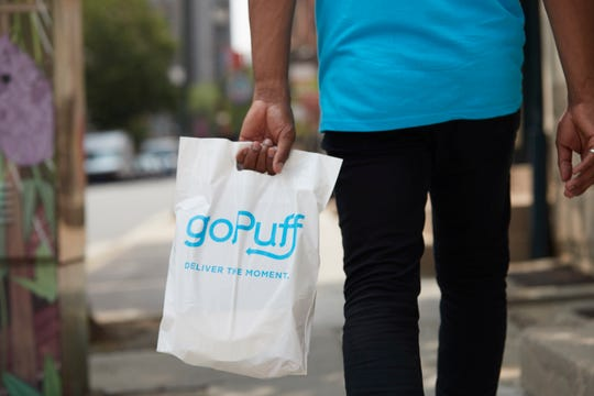 Digital convenience store goPuff launches its delivery service in Milwaukee Monday.