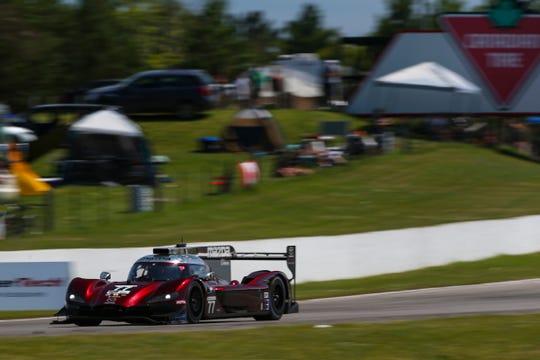 Tristan Nunez and Oliver Jarvis share the No. 77 Mazda DPi.