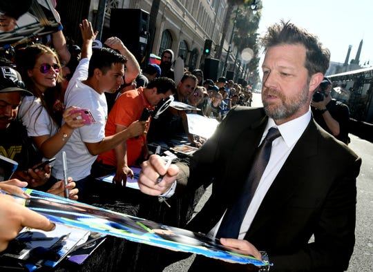 "Director David Leitch arrives at the premiere of ""Fast & Furious Presents: Hobbs & Shaw"" in Hollywood July 13. Leitch, who also directed ""Deadpool 2"" and ""Atomic Blonde,"" grew up in the Kohler area."