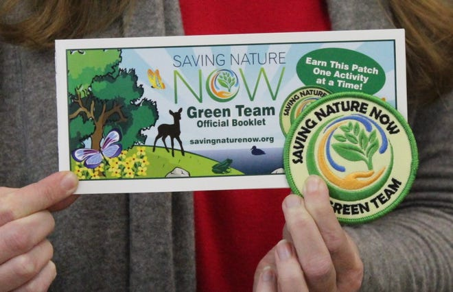 Earn the Green Team patch by completing activities that directly help nature and encourage sustainable living.Join us at Donald W. Reynolds Library Serving Baxter Countyin Mountain Home from 11 a.m.-3 p.m. Saturday, Aug.3.The program is free for children in secondthrough sixthgrades and their families, and sponsored by Saving Nature Now and Thrivent Financial.For information, call (870) 449-5885.