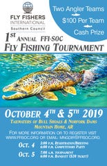 The Mountain Home Area Chamber of Commerce is pleased to announce a partnership with the Southern Council of Fly Fishers International for the inaugural Fly-Fishing Tournament to be held on the tailwaters of Bull Shoals and Norfork dams.