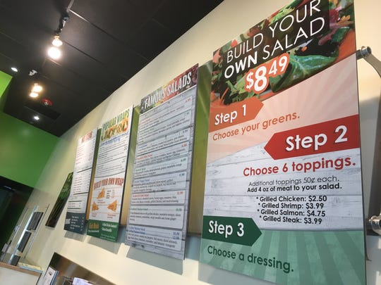 Salad Express recently opened in The Shoppes at EastChase in Montgomery.