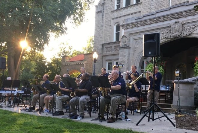 The Big Band Jazz group from America's Hometown Band, is directed by Will Frazier and Phil Cooley.