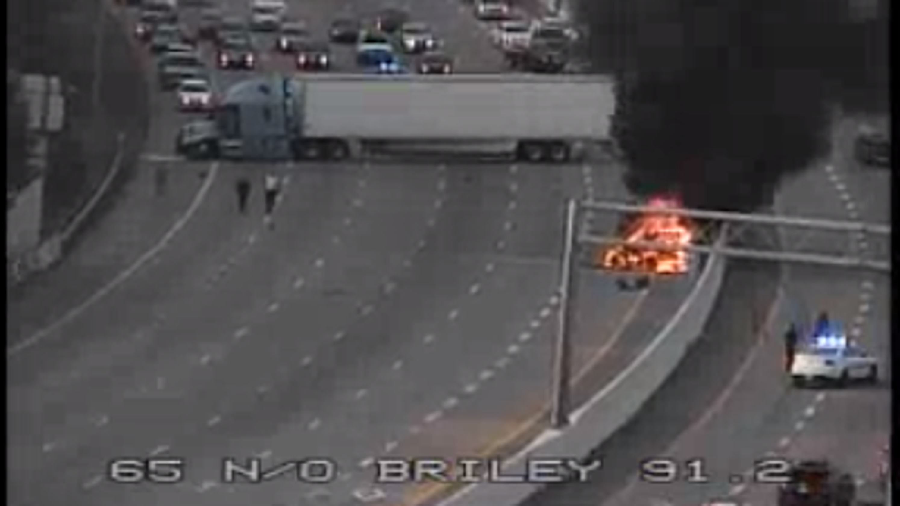 Nashville traffic: I-65 S closed at Briley Parkway after