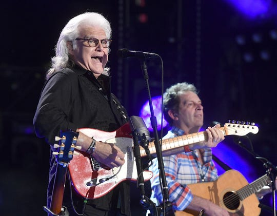15-time Grammy winner and 2018 Country Music Hall of Fame inductee Ricky Skaggs and his band, Kentucky Thunder, will perform at the Hendersonville Hometown Jam. Here, he performs at the Ryman Auditorium.
