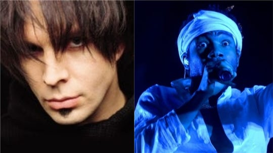"Childish Gambino (right) covered 1999 Chris Gaines hit ""Lost In You."""