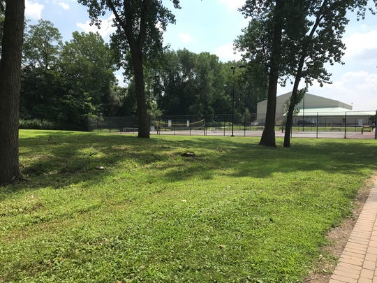 The site of a 9/11 memorial slated to debut this year in Cresskill may not see any work done there in time for the memorial to debut this year's September 11.