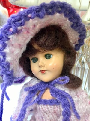 A beautiful donated doll collection is on sale for 50 percent off at Silver Whiskers thrift store at 118 S. Silver Avenue.