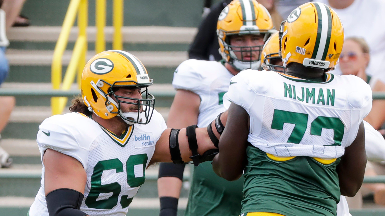 new arrivals 22637 57d81 Packers' David Bakhtiari won't soon forget matchup vs. Za ...