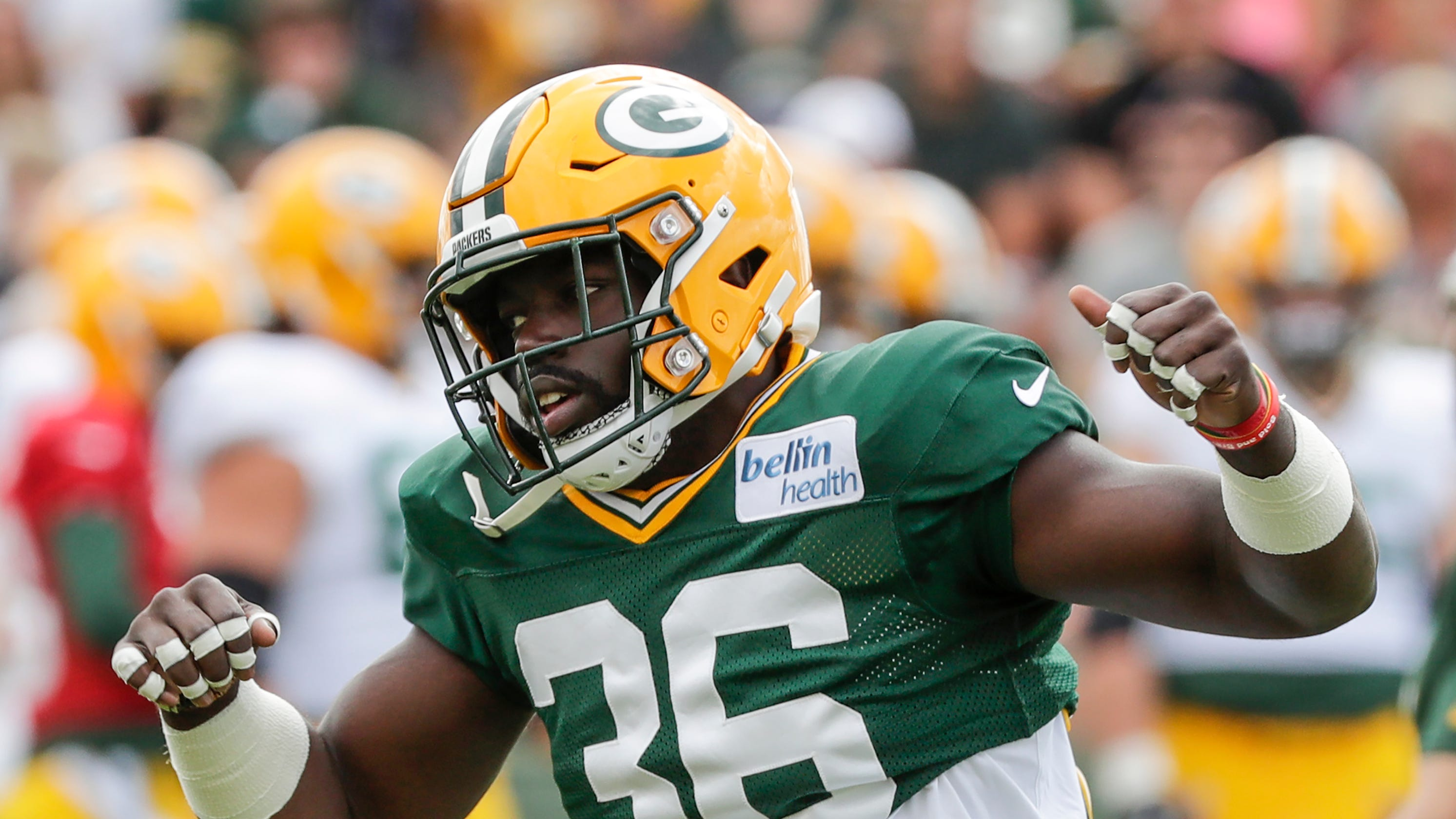the latest efd54 cf4df Packers safety Raven Greene set to benefit from Josh Jones ...