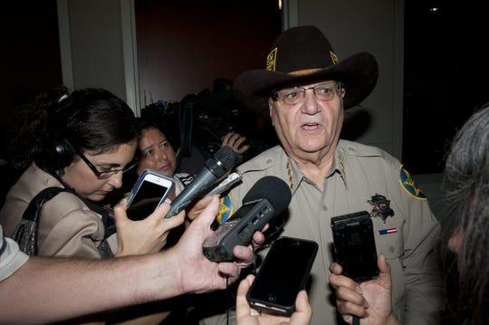 Maricopa County Sheriff Joe Arpaio in 2015.