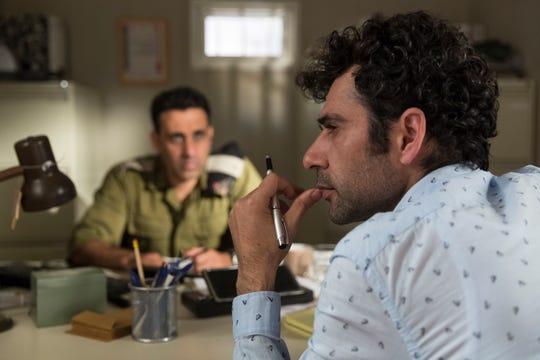 "Yaniv Biton (left) and Kais Nashif star in ""Tel Aviv on Fire."""