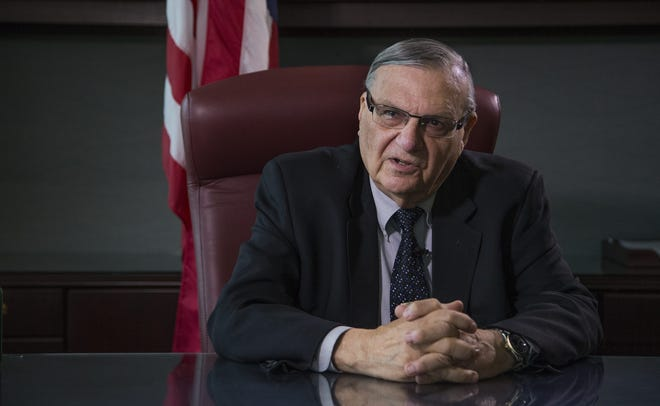 Maricopa County Sheriff Joe Arpaio gives his last interview to The Republic while still in office on Dec. 21, 2016.
