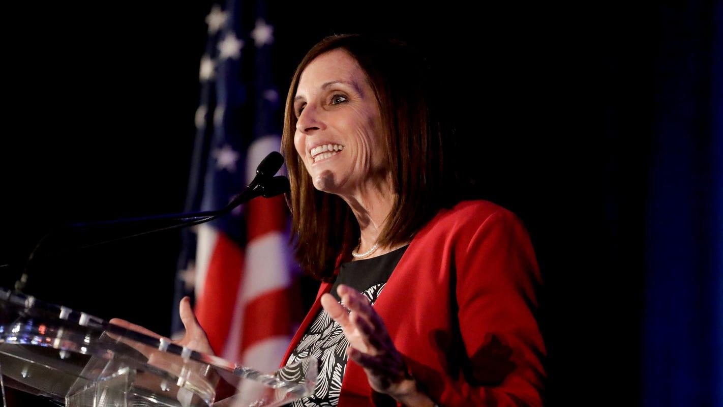 Martha McSally vows to fight for Arizonans in maiden speech to Senate