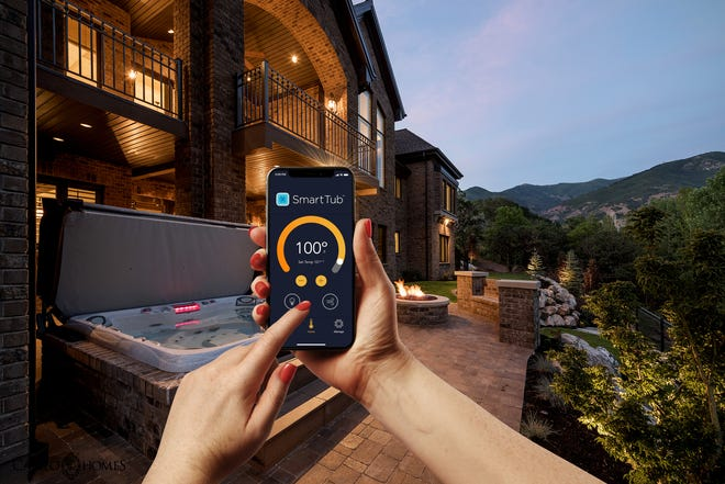 Technology and hot tubs are coming together to create the perfect soaking experience.