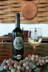 The Sauvignon Blanc from Carlson Creek Vineyard.