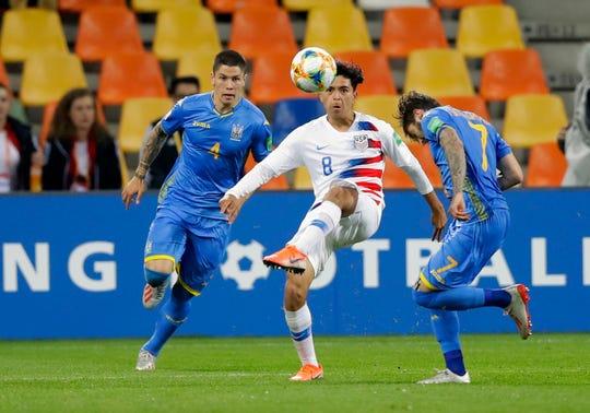 A su corta edad, Alex Méndez muestra grandes dotes como futbolista.