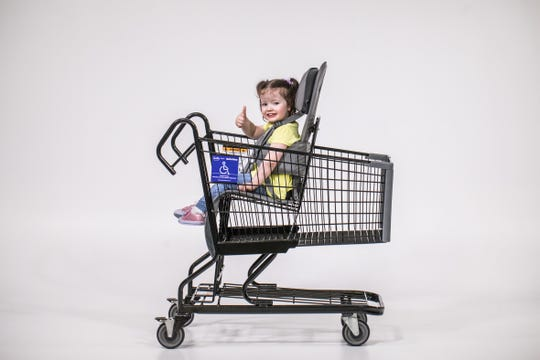 The Firefly GoTo Shop cart, designed for young children who have special physical needs, is now available at all Wegmans locations.