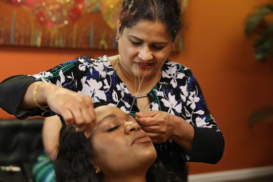 Eyebrow threading in Rochester: many options for this beauty