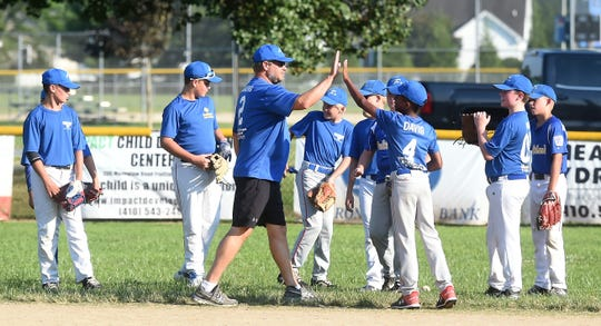 The Fruitland Little League 11-12-year-old All-Star will head to the Mid Atlantic Regional Tournament in Bristol, Ct. on Friday, Aug. 2, 2019.