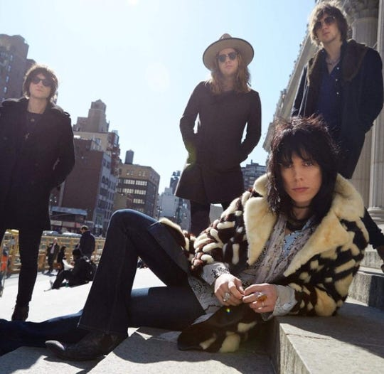 British quartet The Struts will play a sold-out show at the Bottle & Cork in Dewey Beach on Tuesday, Aug. 6.