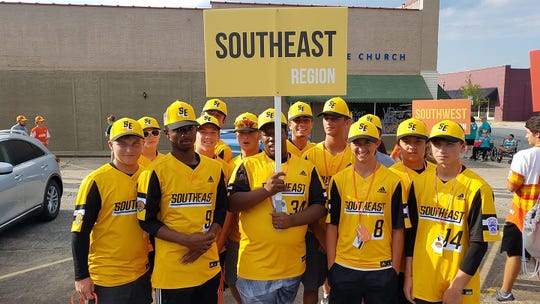 Central Accomack Little League Boys All-Star Team is representing the Southeast  Region at the Senior League Baseball World Series in South Carolina.