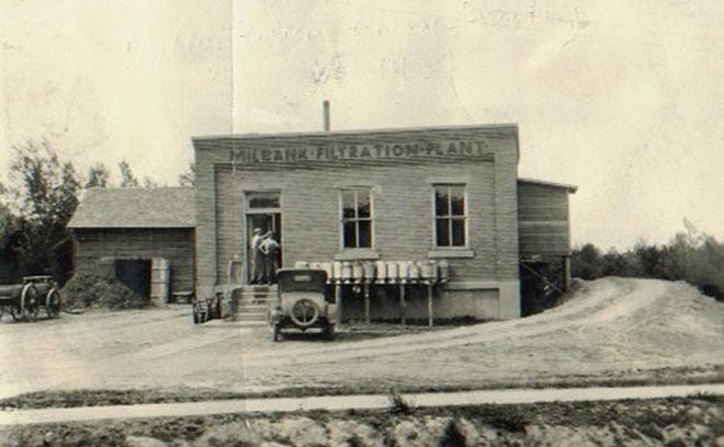 The Valley Queen Cheese plant's first location, in the Milbank Filtration Plant.