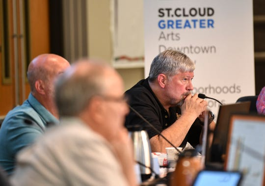 Council member Paul Brandmire listens during a St. Cloud City Council meeting Monday, July 22, 2019, at City Hall.