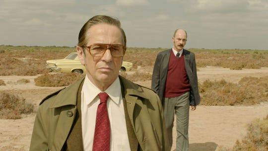"""Dario Grandinetti and Alfredo Castro in """"Rojo."""""""