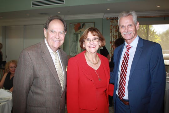 Jack Levine, left, Sen. Gayle Harrell, David Heaton at the Martin County Healthy Start Coalition luncheon at Pipers Landing Country Club in Palm City.