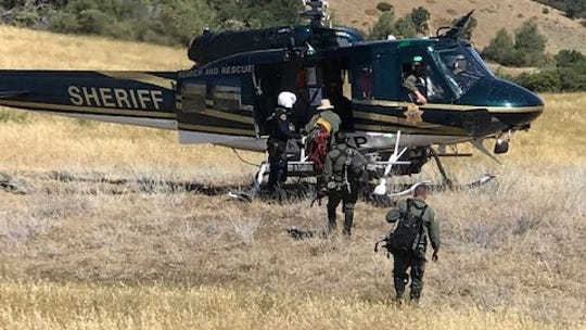 Helicopters and ground searchers joined the effort to find Santa Barbara hiker Wesley Welch.