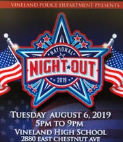 Vineland Police are inviting the public to it's annual National Night Out celebration.