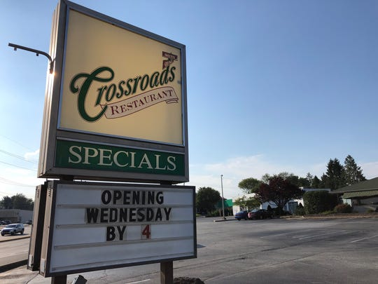 Crossroads Restaurant on Kirkwood Highway was shut down by the health department last week due to a roach issue. It expects to reopen Wednesday afternoon.