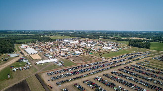 Tent City sat on 70 acres at the Walter Grain Farms for Jefferson County Farm Technology Days July 23-25.