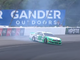 July 28: Ryan Blaney spins after making contact with Daniel Suarez with three laps remaining in Stage 2 of the Gander RV 400 at Pocono Raceway.