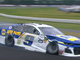 July 28: Chase Elliott's Chevrolet limps around the track after slammed into the wall in Turn 3 during the Gander RV 400 at Pocono Raceway.