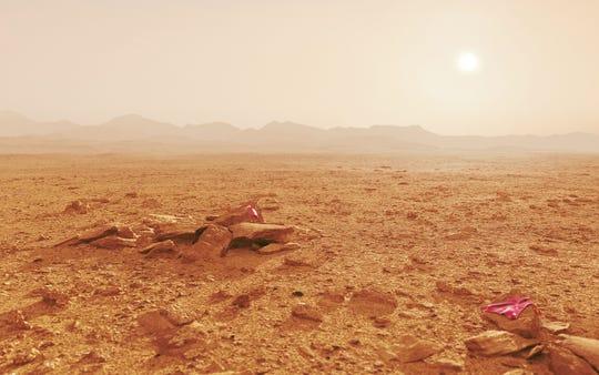 Fun fact: The average temperature on Mars is minus 81-degrees Fahrenheit, according to NASA. The average temperature on earth is 57-degrees.