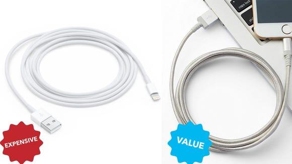 AmazonBasic iPhone charger