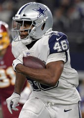 Alfred Morris spent two seasons with the Cowboys, starting five games and rushing for 790 yards and 3 TDs.