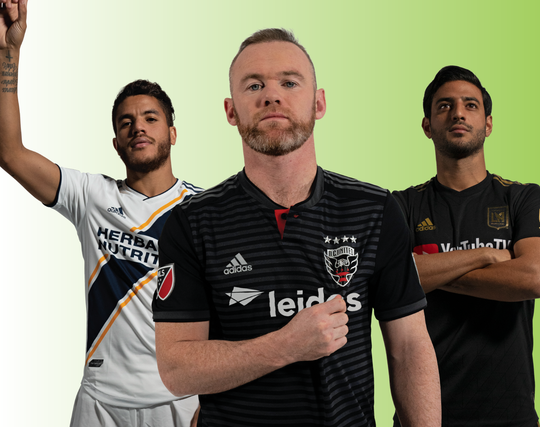 Jonathan dos Santos, Wayne Rooney and Carlos Vela will participate in the MLS All-Star Skills Challenge.