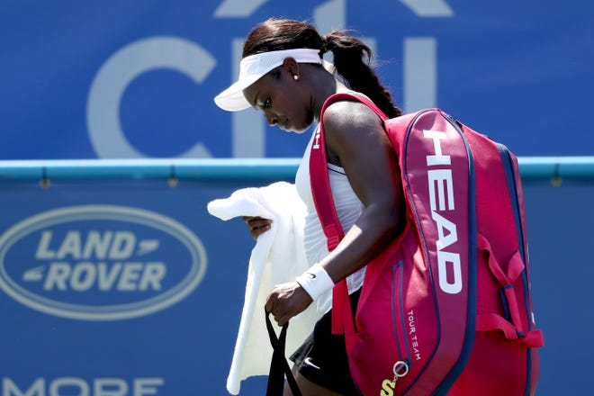 Sloane Stephens made another early exit at the Citi Open.