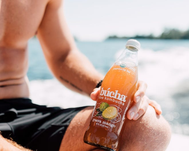 Unlike most kombuchas characterized by a pungent vinegar smell, Búcha's USDA-certified, organic kombucha has an approachable and refreshing taste