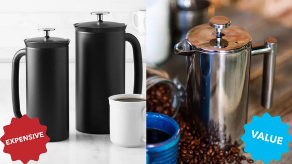SterlingPro SS Double Wall French Press