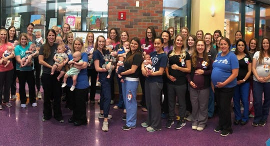 36 nurses at Children's Mercy Kansas City planned to deliver babies in 2019.